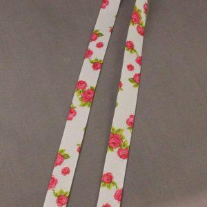 Grosgrain Rose Ribbon