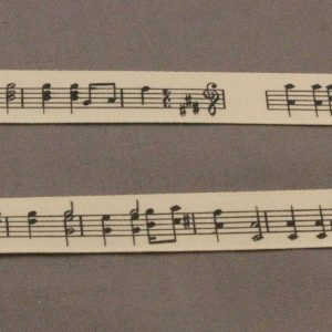 Musical Notes Ribbon