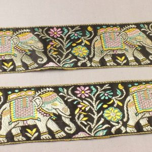 indian elephant ribbon trim
