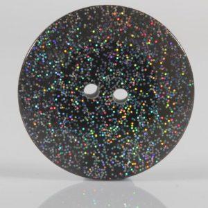 Black-Glitter-Button-23mm